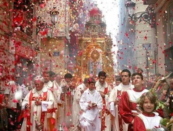 A Festa do Corpo de Cristo
